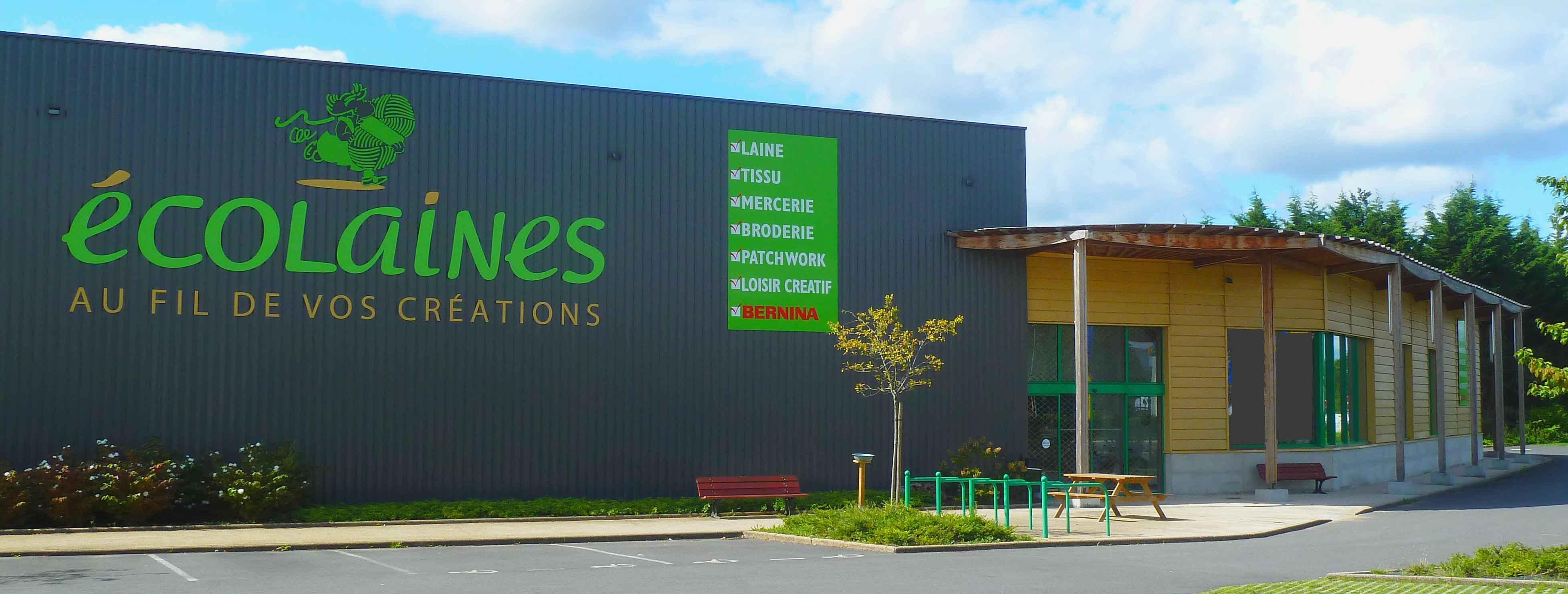 Photo de façade du magasin Ecolaines